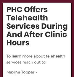 Learn more about telehealth services